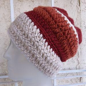 Vintage Hand Crocheted Beanie